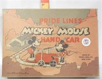 Pride Libes  Ltd Mickey Mouse Handcar