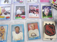 Approx 200 70s and 80s hockey cards