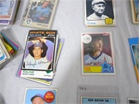 Approx 200 1950s to 1990s Baseball Cards