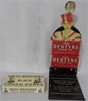 "Dentyne Counter Display 7 1/2"" H"