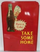 Coca Cola Sprite Boy Advertising Rack Sign