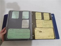 3 binders of Massachusetts vehicle ephemera