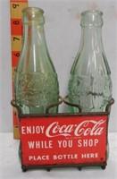 Coca Cola 6 1/2 oz six pack Carrier
