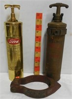 Brass Ford Fire Extinguisher