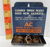 AC Spark Plug Gaskets Display