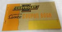 Chevrolet Service Coupon Book 1953