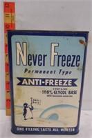 Never Freeze Anti-Freeze Can