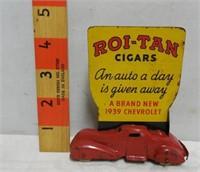 ROI-TAN Cigars 1939 Chevrolet