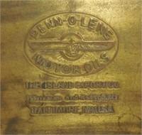 Small Brass Desk Box Penn-O-Lene