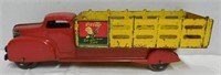 Coca-Cola Pressed Steel Sprite Box Stake Truck