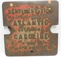 Atlantic Gasoline Tank Fill Cover Plate