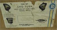 One Set NOS Sho-Turn Turn Signal
