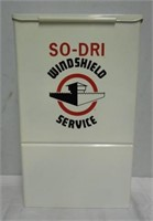 SO-DRI Windshield Service Station Box