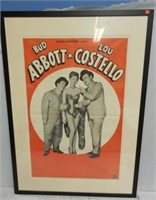 Abbott and Costello Movie Poster