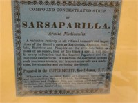 Framed Advertising Cards