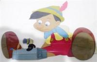 Pinnochio & Jiminy Cricket Hand Painted Film Cel