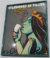 Starbucks 25 Years Milton Glaser