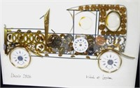 1926 Lincoln Made of Watchparts by L. Kersh
