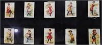 Set of 25 Ladies in Bathing Suits