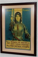 Joan of Arc Saved France War Savings Stamps