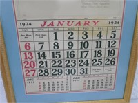 The Kimball System 1924 Calender