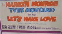 Let's Make Love Movie Poster w/ Marilyn Monroe