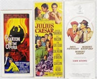 Set of 3 Movie Posters