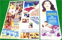 "Set of 3 Movie Posters, 14"" wide x 36"" high"