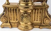 Fireplace Hearth Brass Andirons