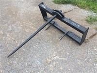 Skid Steer Quick Attach Hay Spear