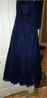 Stunning Blue Evening Gown