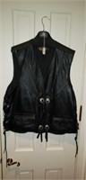 Harley Davidson XL leather Vest