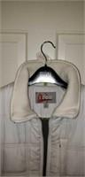 Large Izod Ladies White Jacket