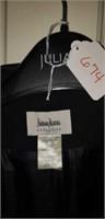 Neiman Marcus L black coat