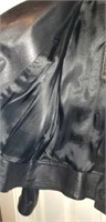Vera Pelle Italian Leather Coat sz 46