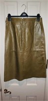 Gap Size 10 Leather Skirt