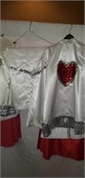 His & Hers Custom Mardi gras Party Outfits