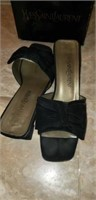 2 pair of Yves Saint Laurent dress shoes
