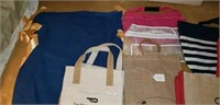 Huge lot of Misc. Hand Bags totes