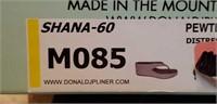 Donald J Pliner wedges size 8 1/2 pewter distress