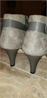 AN YI LU leather ankle boots size 41