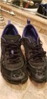 Lot of 3 tennis shoes, merrell, new balance, asics