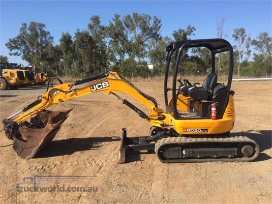 2017 Jcb 8030 - Heavy Machinery for Sale