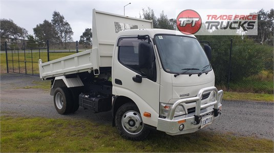 2015 Hino 300 Series 616 IFS Short Tipper Trade Price Trucks - Trucks for Sale
