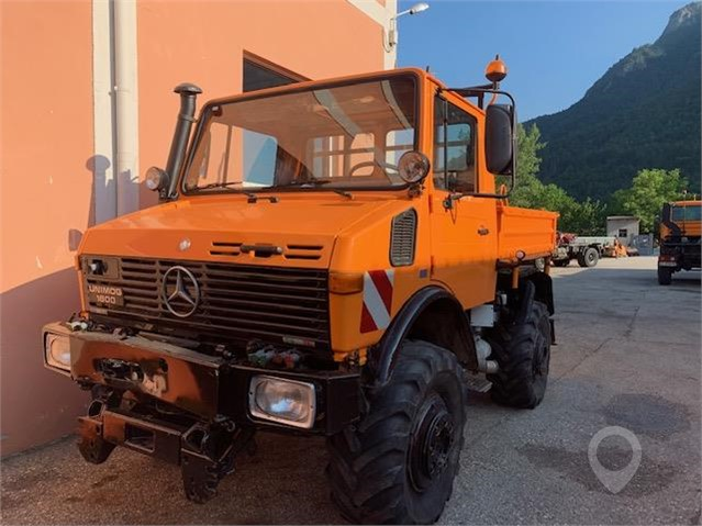 Used 1991 MERCEDES-BENZ UNIMOG 1600 For Sale In VALLARSA, TN Italy