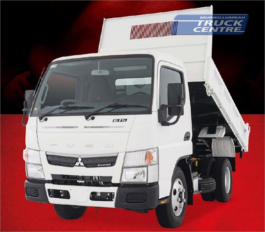 Fuso Canter 4x2 615 City Cab Tipper SWB 6 Sp. DCT