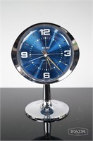 Westclox Big Ben Clock and 2 Aluminum Tile Plates