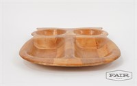 Lot of Stacking Bowls and Wooden Trays