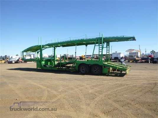 1985 Mcgrath Car Carrier Trailer Western Traders 87 - Trailers for Sale