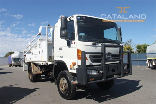 2012 Hino GT 4x4 Catalano Truck And Equipment Sales And Hire - Trucks for Sale